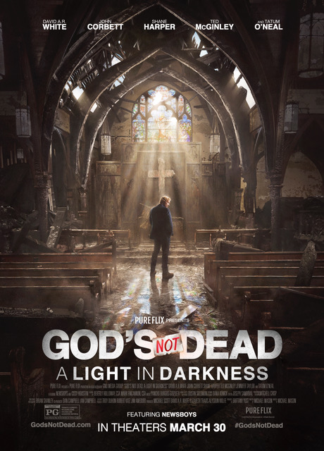 """GOD'S NOT DEAD """"A LIGHT IN DARKNESS"""" <br>Film & Television"""